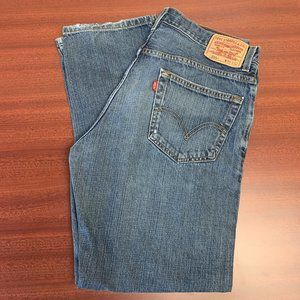 Vintage Men 559 Relaxed Straight Mom Jeans